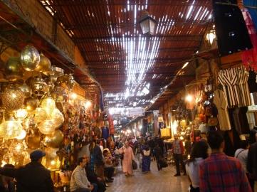 Souks marocains
