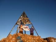 Sommet de l'Atlas, 4167m