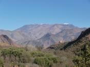 Chaine de l'Atlas, Maroc