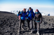 Avec notre ami Peio, Kilimandjaro