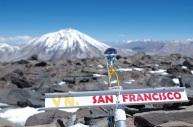 La vue au sommet sur le majestueux Incahuasi.